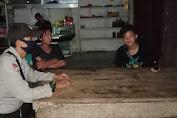 Edukasi Warga Tentang New Normal, Piket Polsek Kuala Behe Sambangi Kerumunan Warga