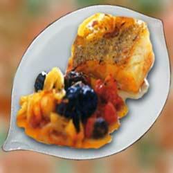 Рецепт приготовления рыба с сухофруктами и орешками