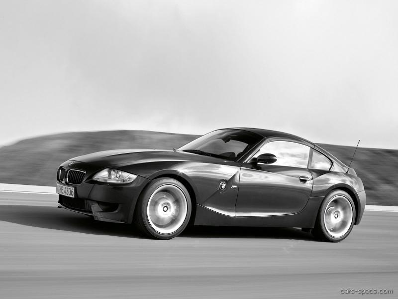 2007 Bmw Z4 M Coupe Specifications Pictures Prices