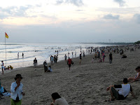 Kuta Beach at sunset - Bali