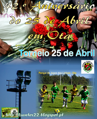 42.ª ANIV. 25 ABR - 2016 - Torneio Futebol