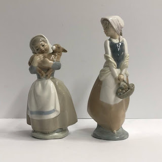 Lladró Figurine Pair