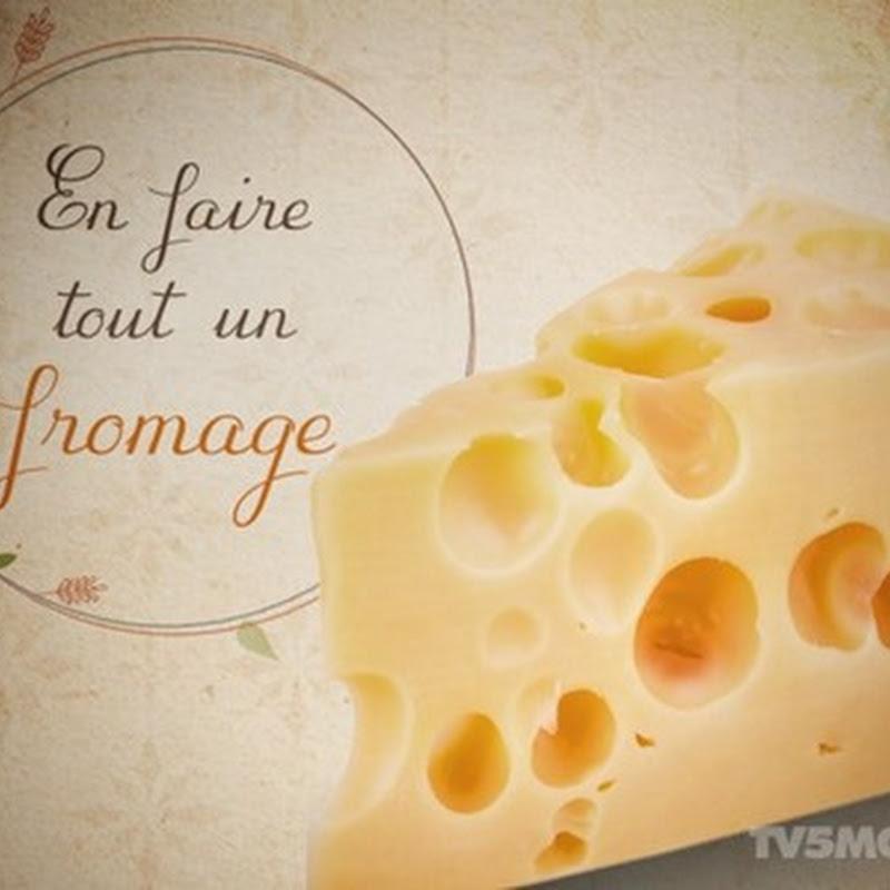 """Ungkapan: """"En faire tout un fromage"""""""