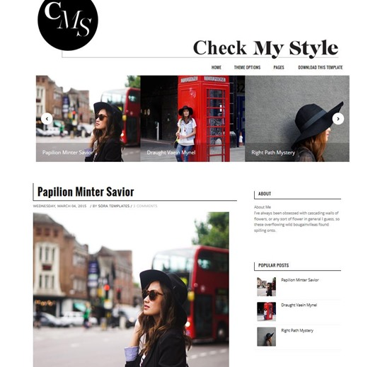 check-my-style-template