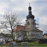 Oprava kostela sv. Jiljí v Třebnicích - 15.11.2014
