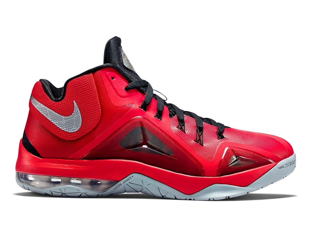 pretty nice 81b7a 0a6c9 Nike Ambassador 7 Red and Metallic Silver New Look ...