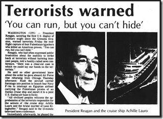 Reagan Run But Can't Hide quote