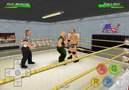 Wrestling Revolution 3D Mod v1 450 APK لعبة المصارعه نسخة