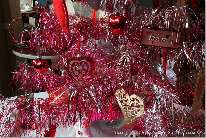 Ornaments on Valentine Tree