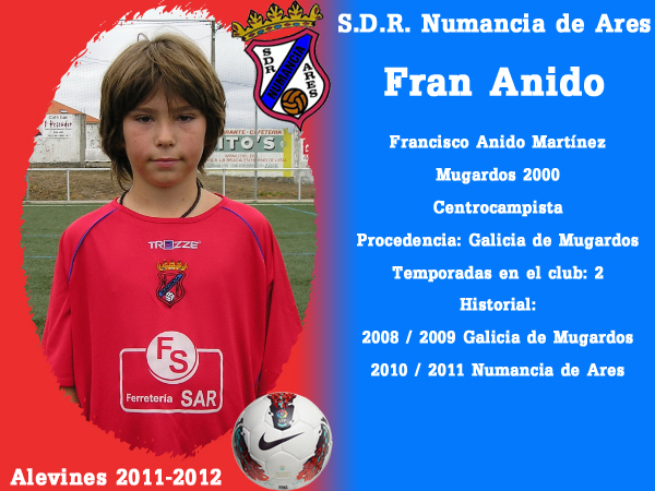 ADR Numancia de Ares. Alevíns 2011-2012. FRAN ANIDO.