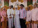 Erwin Yunaz Jadi Saksi Pernikahan Putri Hendri Warman