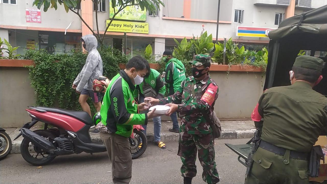 Program Sejuta Untuk Warga Terdampak Covid-19 Terus Dijalankan Koramil-06/KG