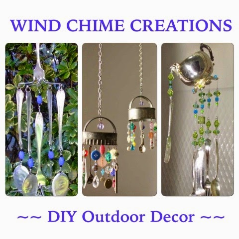 Outdoor Projects and Decor! Handmade Wind Chimes