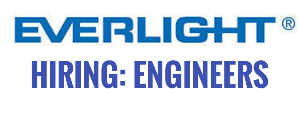 Hiring Engineers For Everlight Electronics Co Ltd