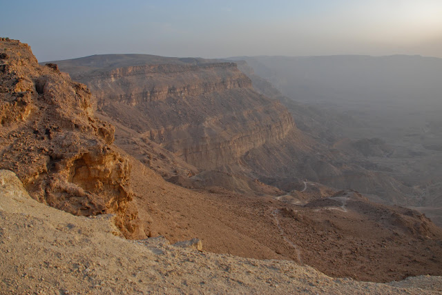 The small crater, Israel, negev