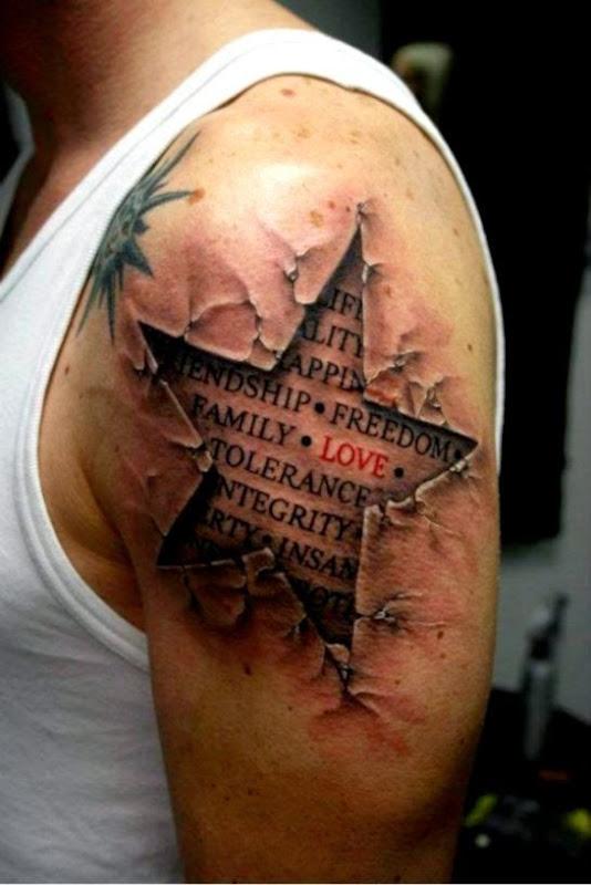 Interpretation of a dream in which you saw «Tattoo»