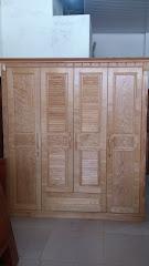Tủ quần áo gỗ MS-173 (Còn hàng)