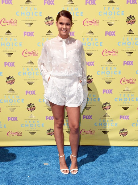 Maia Mitchell attends the Teen Choice Awards 2015