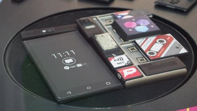 Ponsel Project Ara Dengan Magnetik Hot-Swappable