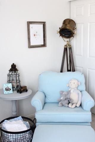 Nursery Reveal Brave Blonde