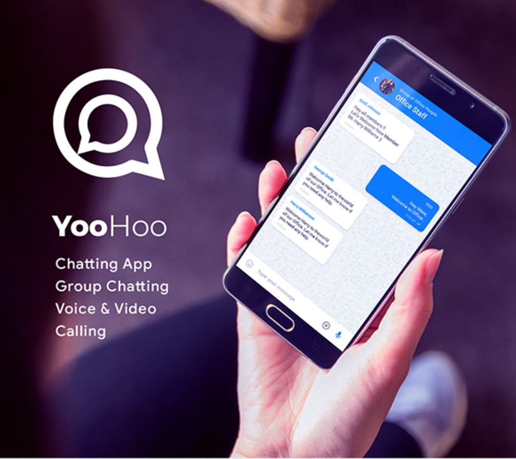 YooHoo Group Chatting App  Source Code