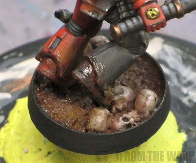 40k mud effect base