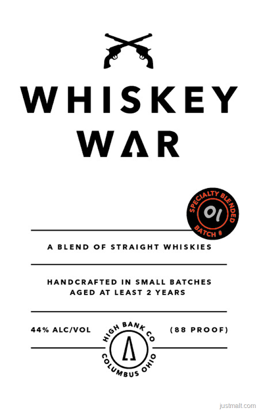 High Bank Distillery Whiskey War