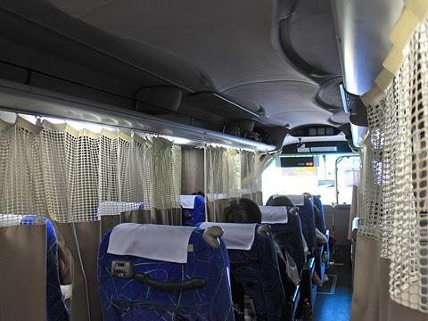 防長交通「萩エクスプレス」 ・655 車内 東名川崎付近走行中