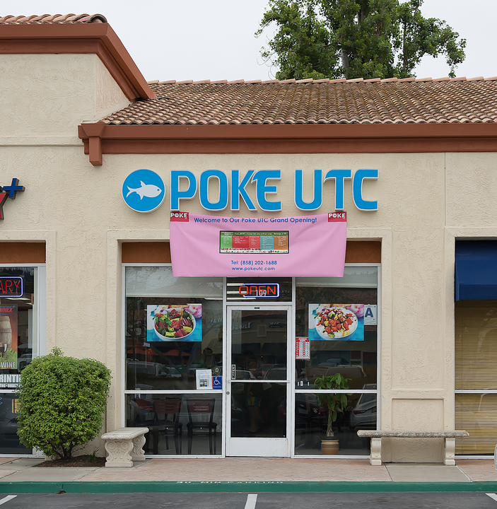 photo of the outside of Poke UTC
