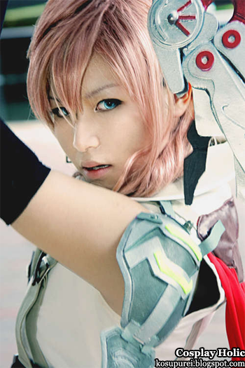 final fantasy xiii cosplay - eclair / claire farron aka lightning by rainer tachibana