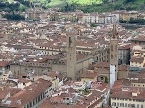 Palazzo Vecchio & Badìa Fiorentina from the Duomo