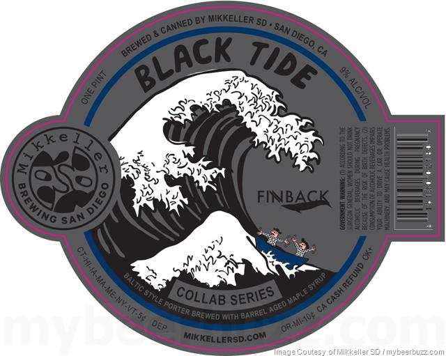 Mikkeller San Diego & Finback Brewery Collaborate On Black Tide