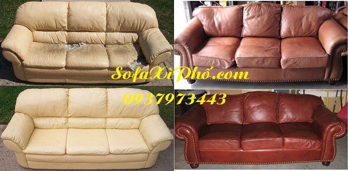Bọc lại ghế sofa khung gỗ - Sửa ghế sofa cổ điển tại hcm