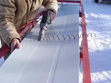 On Site Roll Forming Dan Perkins Metal Roofing