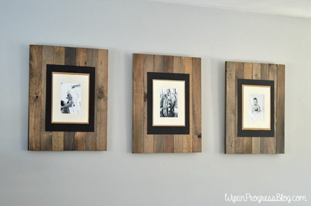 diy-rustic-weathered-pallet-frame-2