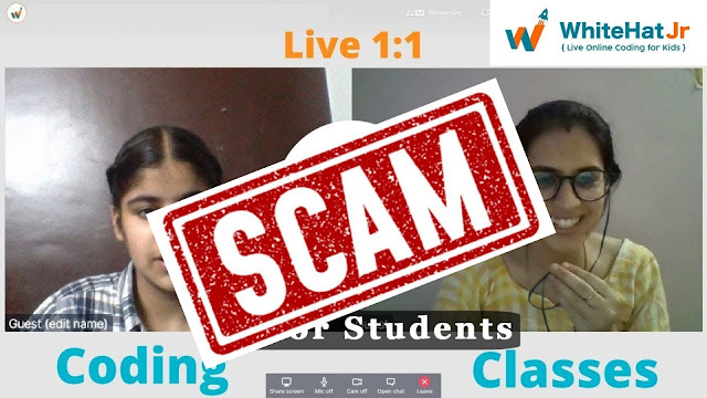 How WhiteHatJr is fooling us, the real truth behind the Byju's scam?
