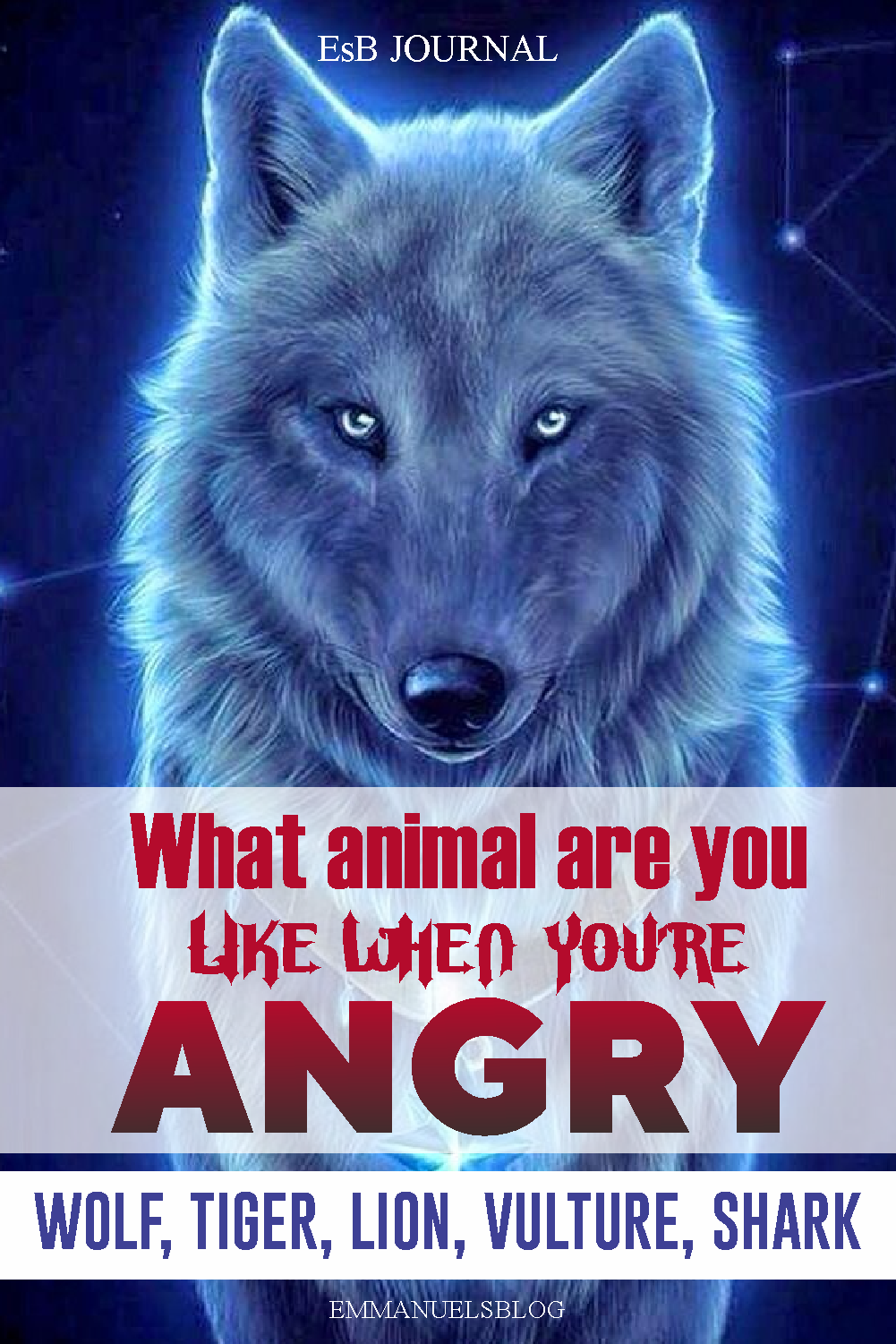 What Animal Are You Like When You're Angry? - This Quiz REVEALS Who you are