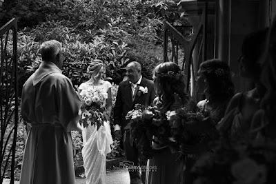 Wedding at All Saints church, South Cave