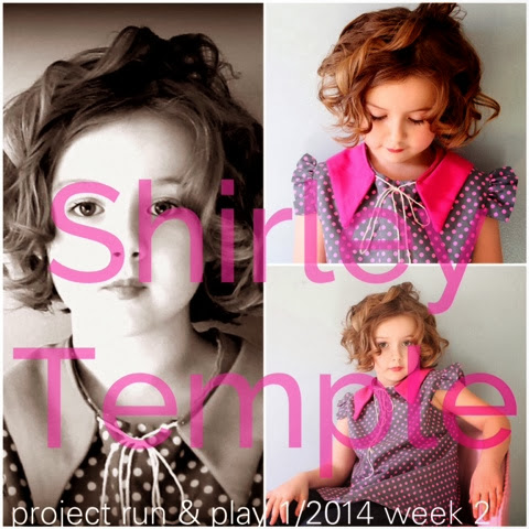 Let's Go to the Movies! - Shirley Temple Style - Project Run & Play Week 2 - 2014