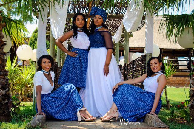 Traditional Shweshwe Dresses For Wedding 2018