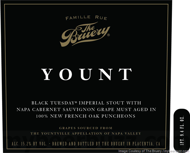 The Bruery - Yount Returning In 750ml Bottles