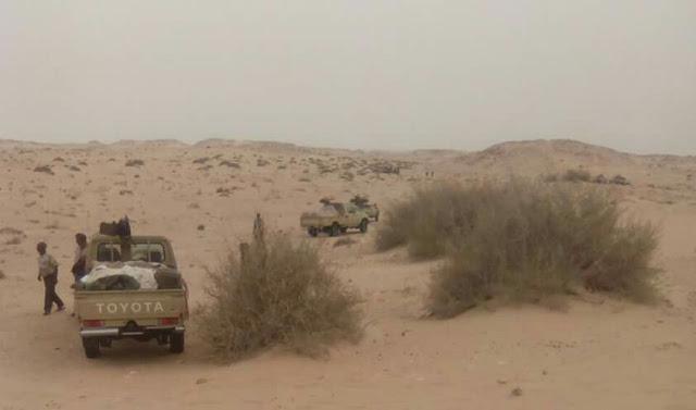 ⭕ URGENTE: Suenan tambores de guerra en Guerguerat, sur del Sáhara Occidental.
