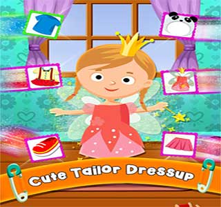 لعبة خياطة وتلبيس Little Kids Tailor