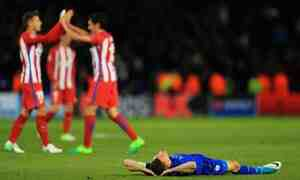 Leicester City vs Athletico Madrid Goals and Highlights