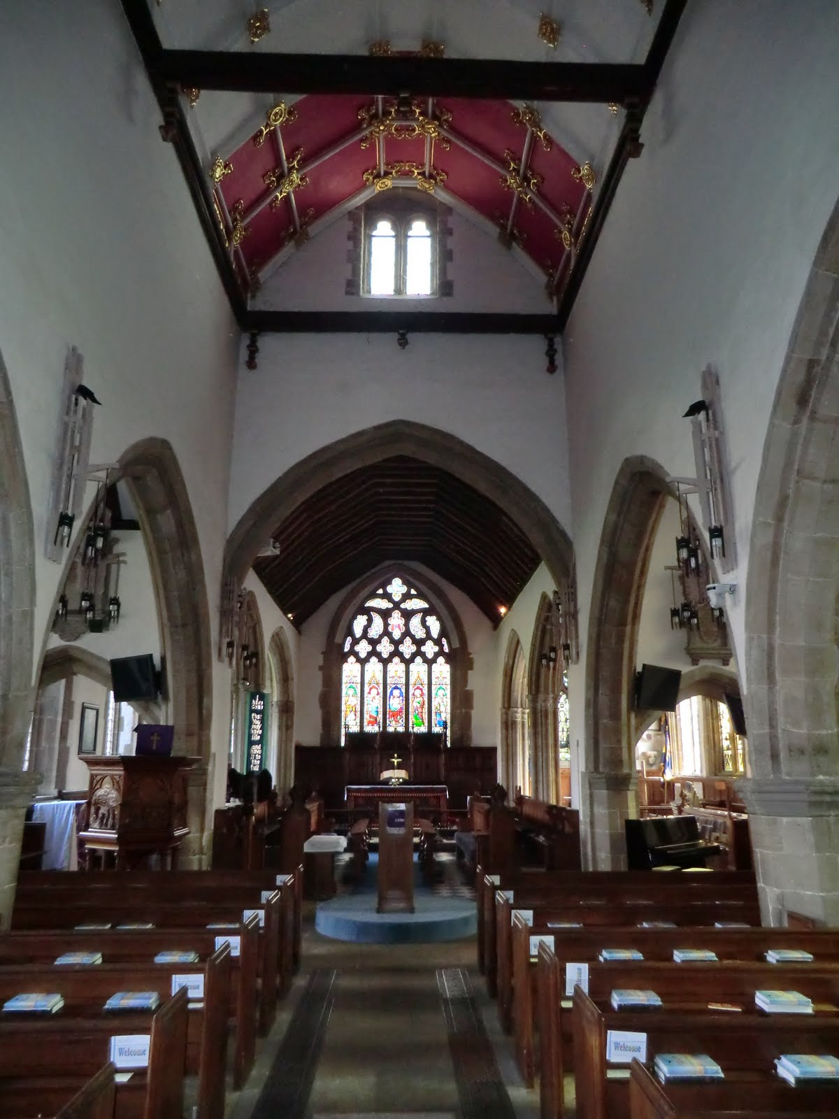 CIMG1871 All Saints church, Lindfield
