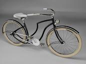 Plum bike lady frame