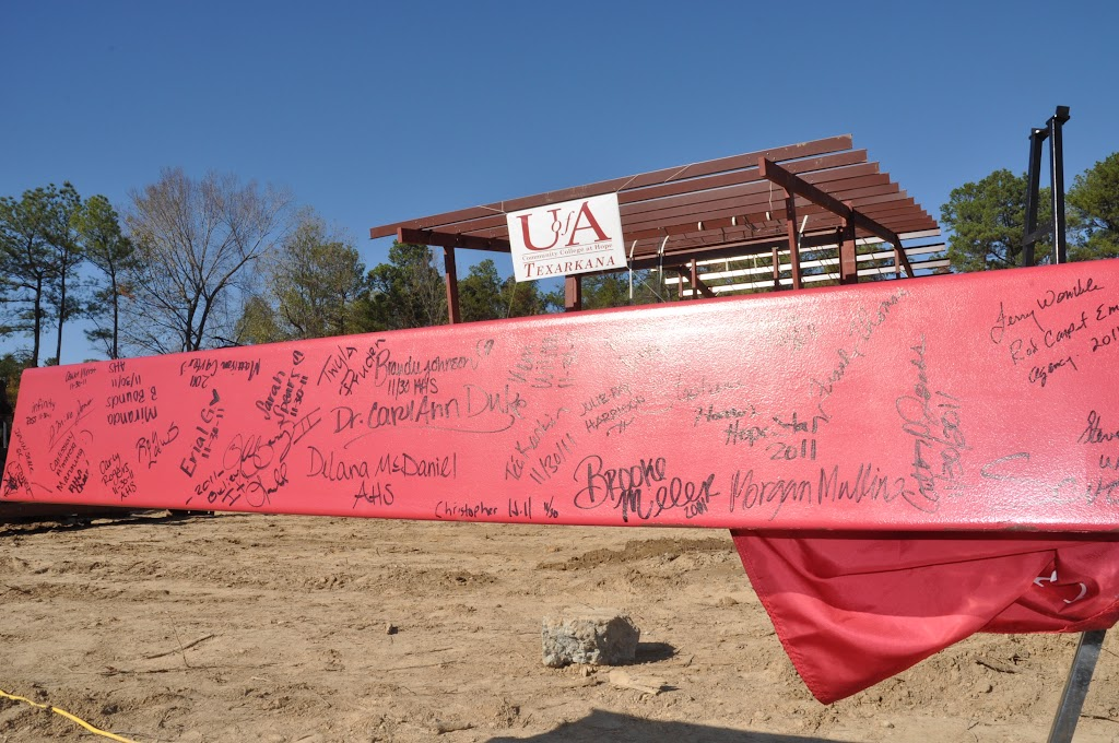 UACCH-Texarkana Creation Ceremony & Steel Signing - DSC_0233.JPG