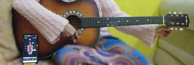 Mengunakan guitar tune