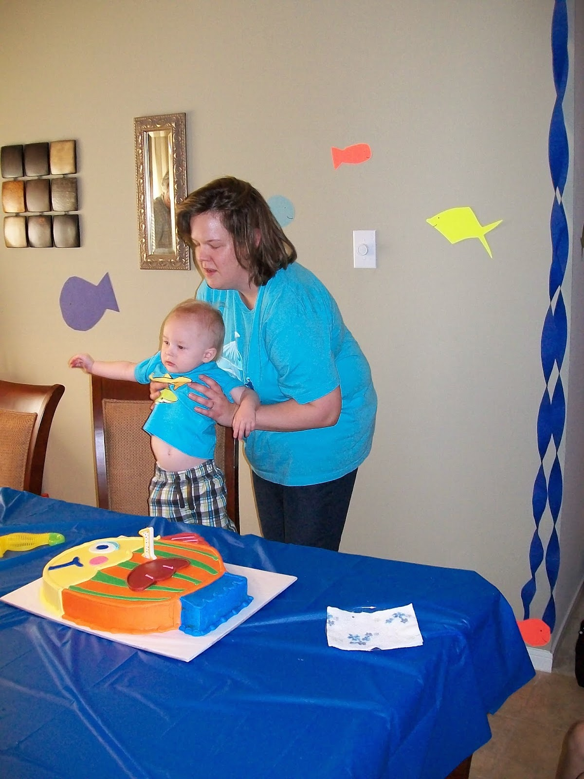 Marshalls First Birthday Party - 100_1413.JPG