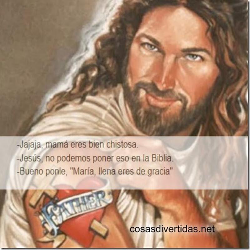 Jesús… No podemos poner eso, meme